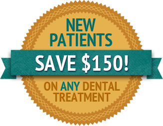 New Patients Save $150 on any Dental Treatment